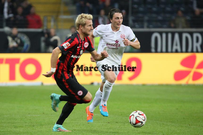 Stefan Aigner (Eintracht) - Eintracht Frankfurt vs. 1. FSV Mainz 05, Commerzbank Arena