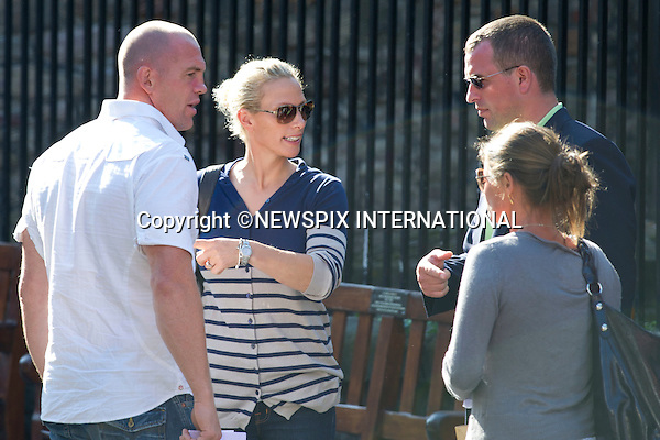 """ROYAL WEDDING..Wedding rehearsals of Zara Phillips and Mike Tindall..The couple attend a wedding rehearsal at Canongate Church the afternoon before the big day, accompanied by members of their families. Canongate Church, Edinburgh, Scotland_29/07/2011..Mandatory Photo Credit: ©Dias/Newspix International..**ALL FEES PAYABLE TO: """"NEWSPIX INTERNATIONAL""""**..PHOTO CREDIT MANDATORY!!: NEWSPIX INTERNATIONAL(Failure to credit will incur a surcharge of 100% of reproduction fees)..IMMEDIATE CONFIRMATION OF USAGE REQUIRED:.Newspix International, 31 Chinnery Hill, Bishop's Stortford, ENGLAND CM23 3PS.Tel:+441279 324672  ; Fax: +441279656877.Mobile:  0777568 1153.e-mail: info@newspixinternational.co.uk"""
