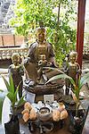 Buddha statues Gangaramaya Buddhist Temple, Colombo, Sri Lanka, Asia