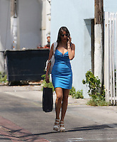 APRIL 25 2013.GISELLE BLONDET PASEANDO POR SOUTH BEACH.Exclusive.Mandatory Credit: OHPIX.COM..Ref: OH_SOL ++<br /> &copy;/NortePhoto
