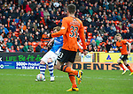Dundee United v St Johnstone.....04.05.13      SPL.Liam Craig makes it 1-0 to saints.Picture by Graeme Hart..Copyright Perthshire Picture Agency.Tel: 01738 623350  Mobile: 07990 594431