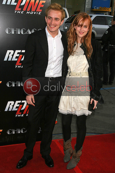 Jesse Johnson and Dakota Johnson<br />