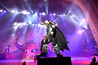 LONDON, ENGLAND - NOVEMBER 30: 'Amon Amarth' performing at Brixton Academy on November 30, 2019 in London, England.<br /> CAP/MAR<br /> ©MAR/Capital Pictures