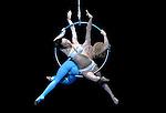 15.01.2016 Cirque Du Soleil performing AMALUNA at The Royal Albert Hall London UK Miranda Julia Mykhailova &  Moon Goddess Marie-Michelle Faber