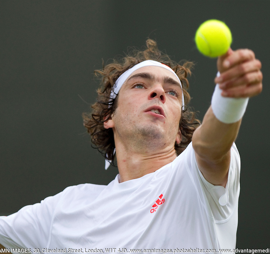 Guillaume Rufin..Tennis - Grand Slam - The Championships Wimbledon - AELTC - The All England Club - London - Wed June 27th 2012. .© AMN Images, 30, Cleveland Street, London, W1T 4JD.Tel - +44 20 7907 6387.mfrey@advantagemedianet.com.www.amnimages.photoshelter.com.www.advantagemedianet.com.www.tennishead.net