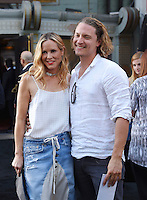 HOLLYWOOD, CA - JULY 19: Actress Maria Bello and Elijah Allan-Blitz attend the premiere of New Line Cinema's 'Lights Out' at TCL Chinese Theatre on July 19, 2016 in Hollywood, California.<br /> CAP/ROT/TM<br /> &copy;TM/ROT/Capital Pictures /MediaPunch ***NORTH AND SOUTH AMERICAS ONLY***