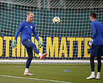 02.09.2019 Scotland u-21 training, Oriam, Edinburgh.<br />Goalkeeper Robby McCrorie