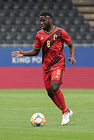 Belgium's Orel Mangala (8) with the ball during a soccer game between the national teams Under21 Youth teams of Belgium and Germany on the 5th matday in group 9 for the qualification for the Under 21 EURO 2021 , on tuesday 8 th of September 2020  in Leuven , Belgium . PHOTO SPORTPIX.BE | SPP | SEVIL OKTEM