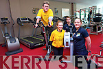 Test your fitness with All Ireland Enable Ireland Gym Challenge taking place in Killarney this September. <br /> L-R Sean Scally (Enable Ireland), Aislinn Griffin, Chris Lynch and Teresa Cahillane of Killarney Leisure Centre.
