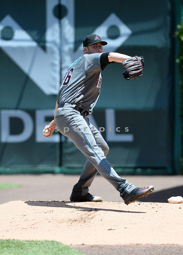 Arizona Diamondbacks Patrick Corbin (46) during a game against the Chicago Cubs on June 5, 2016 at Wrigley Field in Chicago, IL. The Diamondbacks beat the Cubs 3-2.