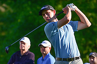 Patrick Cantlay (USA) watches his tee shot on 10 during round 2 of the Shell Houston Open, Golf Club of Houston, Houston, Texas, USA. 3/31/2017.<br /> Picture: Golffile | Ken Murray<br /> <br /> <br /> All photo usage must carry mandatory copyright credit (&copy; Golffile | Ken Murray)