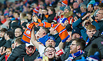 20.02.2020 Rangers v SC Braga: Rangers fans