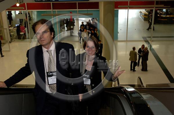 GENEVA - SWITZERLAND 11. 10. 2006 -- The World of Health IT. The Exhibition. -- PHOTO: GORM K. GAARE / EUP- IMAGES ...