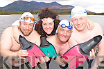 Cathal O'Brien, Marie Wade, Roger Harty and Joe O'Shea who have formed the Dundag Masters Open Water swimming club in Killarney