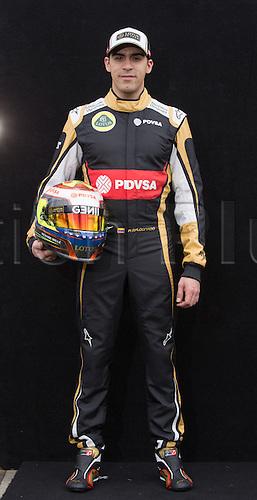 12.03.2015. Melbourne, Australia. Official driver pportrait for 2015 Season before round 1 of the F1 season.  Pastor Maldonado (VEN) Lotus