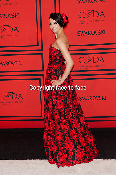 NEW YORK, NY - JUNE 3: Stacey Bendet at the 2013 CFDA Fashion Awards at Lincoln Center's Alice Tully Hall in New York City. June 3, 2013. <br /> Credit: MediaPunch/face to face<br /> - Germany, Austria, Switzerland, Eastern Europe, Australia, UK, USA, Taiwan, Singapore, China, Malaysia, Thailand, Sweden, Estonia, Latvia and Lithuania rights only -