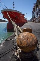 Embarcadero, Guaymas, barco