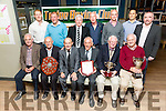 Tralee Boxing Club celebrating 80 years Event  at Benners Hotel on Saturday Pictured front l-r Pat Lynch, George Rind, Noel Rind, Willie Seelar,  Liam Brasil, Christy Lynch, Back l-r Brian O'Sullivan, Seamus O' Mahony, Peter Moriarty, Tommy Kelliher, Kevin Cumisky, Denis O'Donoghue and Cathal O'shea