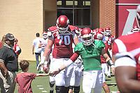 NWA Democrat-Gazette/Michael Woods --04/25/2015--w@NWAMICHAELW... The Arkansas Razorbacks 2015 Red-White game Saturday afternoon at Razorback Stadium in Fayetteville.