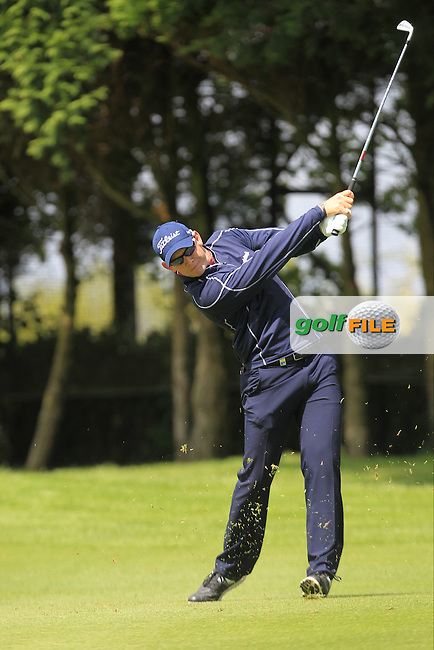 Joachim B. Hansen (DEN) during Thursday's Round 1 ahead of the 2016 Dubai Duty Free Irish Open Hosted by The Rory Foundation which is played at the K Club Golf Resort, Straffan, Co. Kildare, Ireland. 19/05/2016. Picture Golffile | TJ Caffrey.<br /> <br /> All photo usage must display a mandatory copyright credit as: &copy; Golffile | TJ Caffrey.