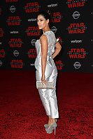 Janina Gavankar at the world premiere for &quot;Star Wars: The Last Jedi&quot; at the Shrine Auditorium. Los Angeles, USA 09 December  2017<br /> Picture: Paul Smith/Featureflash/SilverHub 0208 004 5359 sales@silverhubmedia.com