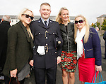 10/09/2015<br /> Garda Michael O'Donnell from Knocknacarra, Co. Galway pictured with sisters Louise and Sharon and Girlfriend Emer O'Conner at the Garda Graduation Ceremony at the Garda College, Templemore, Co. Tipperary.<br /> Pic: Press 22