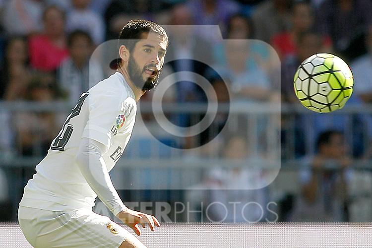 Real Madrid's Isco during La Liga match. September 19,2015. (ALTERPHOTOS/Acero)