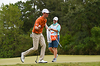 Cole Hammer (a)(USA) sinks his birdie putt on 10 during round 4 of the 2019 Houston Open, Golf Club of Houston, Houston, Texas, USA. 10/13/2019.<br /> Picture Ken Murray / Golffile.ie<br /> <br /> All photo usage must carry mandatory copyright credit (© Golffile | Ken Murray)