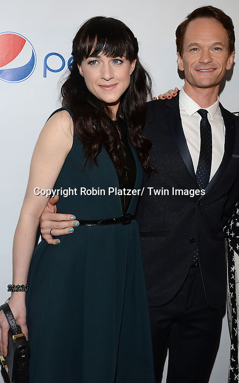 Lena Hall and Neil Patrick Harris attends the 80th Annual Drama League Awards Ceremony and Luncheon on May 16, 2014 at the Marriot Marquis Hotel in New York City, New York, USA.