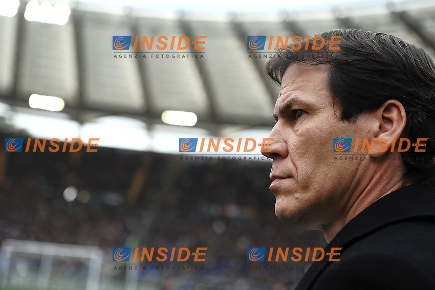 Rudi Garcia Roma <br /> Roma 15-02-2015 Stadio Olimpico, Football Calcio Serie A AS Roma - Parma Foto Andrea Staccioli / Insidefoto