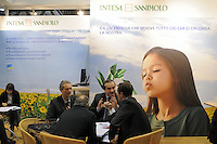 - Milan, Trade Fair of Robotics, High Tech and Green Energy; Intesa San Paolo bank<br /> <br /> - Milano, Fiera della Robotica, High Tech ed Energie Verdi; banca Intesa San Paolo