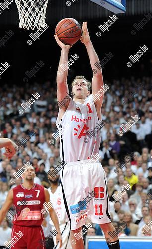 2012-02-15 / Basketbal / seizoen 2011-2012 / 1/4 finale Beker van België / Antwerp Giants - Charleroi / Sportpaleis / Michael Roll..Foto: Mpics.be