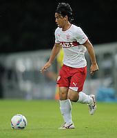 Fussball 1. Bundesliga 2011/2012  Testspiel   13.07.2011 Stuttgarter Kickers - VfB Stuttgart Shinji Okazaki (VfB Stuttgart) am Ball