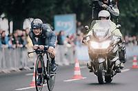 Carlos Betancur (COL/Movistar)<br /> <br /> 104th Tour de France 2017<br /> Stage 1 (ITT) - D&uuml;sseldorf &rsaquo; D&uuml;sseldorf (14km)