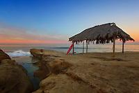 Surf Sunrise on the California Coast