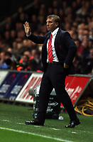 Pictured: Liverpool manager Brendan Rodgers.<br /> Monday 16 September 2013<br /> Re: Barclay's Premier League, Swansea City FC v Liverpool at the Liberty Stadium, south Wales.