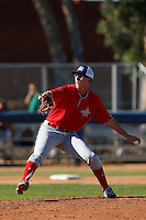 Jearl Jesson participates in the Jesse Flores All Star Game at the Urban Youth Academy on November 4, 2012 in Compton, California. (Larry Goren/Four Seam Images)