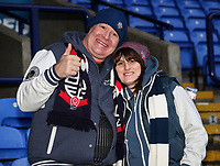 Bolton Wanderers supporters<br /> <br /> Photographer Andrew Kearns/CameraSport<br /> <br /> Emirates FA Cup Third Round - Bolton Wanderers v Walsall - Saturday 5th January 2019 - University of Bolton Stadium - Bolton<br />  <br /> World Copyright &copy; 2019 CameraSport. All rights reserved. 43 Linden Ave. Countesthorpe. Leicester. England. LE8 5PG - Tel: +44 (0) 116 277 4147 - admin@camerasport.com - www.camerasport.com