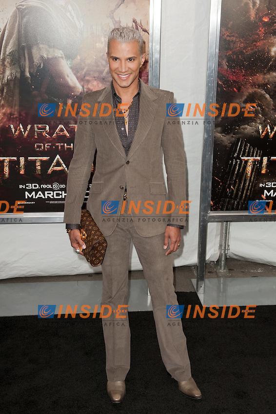 """Jay Manuel   ..Anteprima di """"La Furia dei Titani"""".. """"Wrath of the Titans""""..AMC Lincoln Square Theater..26/03/2012, New York..Foto Insidefoto / Marco Sagliocco....Only Italy"""