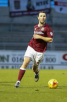 John-Joe O'Toole of Northampton Town during the Sky Bet League 2 match between Northampton Town and Morecambe at Sixfields Stadium, Northampton, England on 23 January 2016. Photo by David Horn / PRiME Media Images.