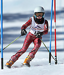 LEAD, SD - JANUARY 31, 2016 -- Harper Howe works through the slalom in the U12 category during the 2016 USSA Northern Division Ski Races at Terry Peak Ski Area near Lead, S.D. Sunday. (Photo by Richard Carlson/dakotapress.org)