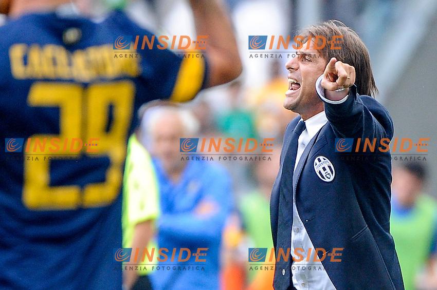 Antonio Conte  Juventus<br /> Torino 22-09-2013 Juventus Stadium<br /> Football Calcio 2013/2014 Serie A<br /> Juventus - Hellas Verona<br /> Foto Federico Tardito Insidefoto