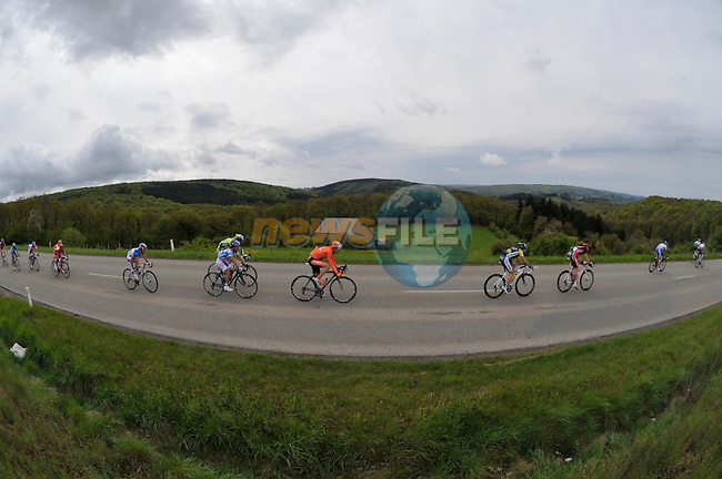 during the Liege-Bastogne-Liege cycle race, 26th April 2009 (Photo by Eoin Clarke/NEWSFILE)