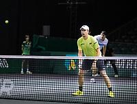 Rotterdam, The Netherlands, 9 Februari 2020, ABNAMRO World Tennis Tournament, Ahoy, Doubles: Henri KONTINEN (FIN).<br /> Photo: www.tennisimages.com