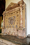 Tomb of Sir John Sulyard died 1574, Wetherden church, Suffolk, England, UK