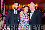 Paul and Louise Galvin and Jimmy Deenihan pictured at KFW Irish Fashion Industry Awards at the Europe Hotel, Killarney on Friday night