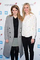 Princess Beatrice &amp; Holly Branson arriving for WE Day 2018 at Wembley Arena, London, UK. <br /> 07 March  2018<br /> Picture: Steve Vas/Featureflash/SilverHub 0208 004 5359 sales@silverhubmedia.com
