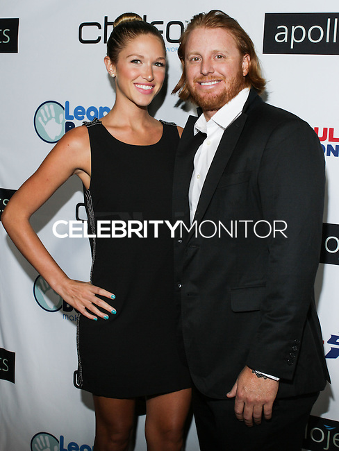 BEVERLY HILLS, CA, USA - OCTOBER 26: Justin Turner arrive at the CP3 Foundation Celebrity Server Dinner held at Mastro's Steakhouse on October 26, 2014 in Beverly Hills, California, United States. (Photo by Rudy Torres/Celebrity Monitor)
