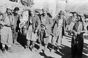 Iraq 1976  <br /> Going back to armed struggle, peshmergas in the village of Yarsamar, left, Mullazem Omar Abdallah  <br /> Irak 1976 <br /> Reprise de la lutte armee, des peshmergas dans le village de Yarsamar, a gauche, Mullazem Omar Abdallah