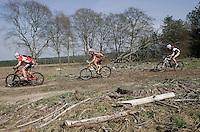 08 APR 2007 - THETFORD, UK - 100km race - British Mountain Bike Marathon series Round 1. (PHOTO (C) NIGEL FARROW)